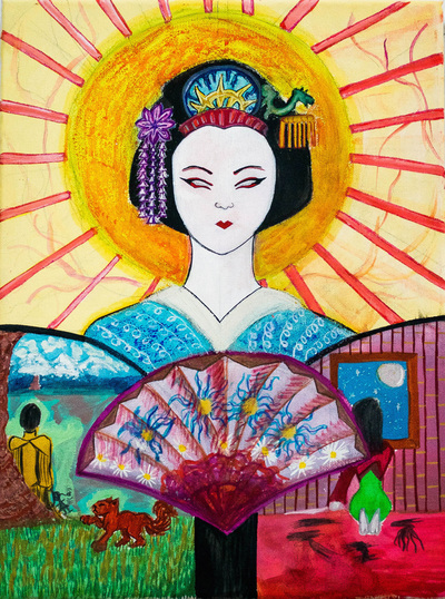 New Painting- Geisha (A Choice of Life?)